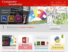 Tablet Preview of computeracademy.com.hk